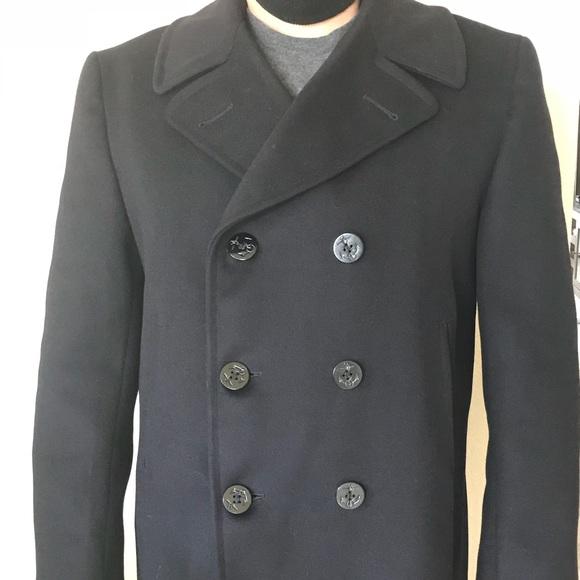 c646aee748909a Naval Clothing Depot Jackets & Coats | United States Navy Pea Coat ...